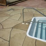Grand Flagstone Stamped Concrete | Xtreme Clean and Coatings